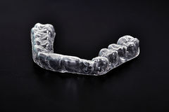 Dental splint royalty free stock photo