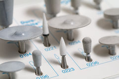 Dental stomatology equipment Royalty Free Stock Images