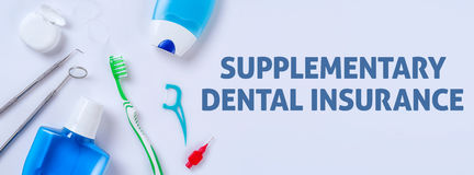 Dental suplementar imagem de stock royalty free