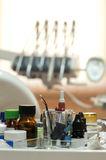 Dental supplies Stock Image