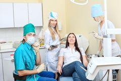 Dental surgery royalty free stock image