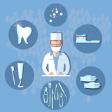Dental surgery, dental treatment Stock Images
