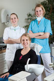Dental team Royalty Free Stock Image