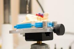 Dental technical laboratory Royalty Free Stock Image