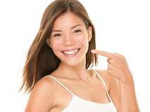 Dental Teeth - Perfect Smile Woman Stock Photography