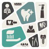 Dental theme background Stock Image