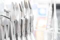 Dental tools. stock images