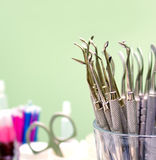 Dental tools Royalty Free Stock Photography