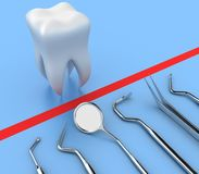 Dental tools Stock Images