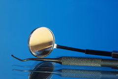 Dental tools and equipment Stock Image