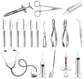 Dental tools Stock Image