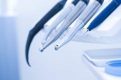 Dental treatment tools Royalty Free Stock Photos