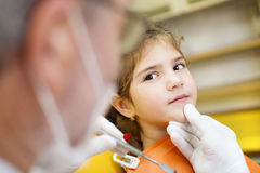 Dental visit stock images