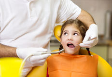 Dental visit Royalty Free Stock Image
