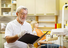 Dental visit Royalty Free Stock Photo