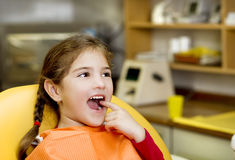 Dental visit Stock Photo