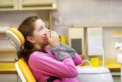 Dental visit Royalty Free Stock Images