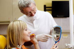 Dental visit Stock Photo