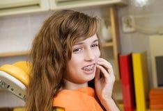 Dental visit Stock Photos