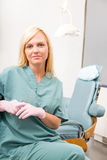 Dental Worker Portrait Royalty Free Stock Photo