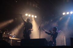Dente ε Coez Carroponte 8/6/2017 Στοκ εικόνα με δικαίωμα ελεύθερης χρήσης