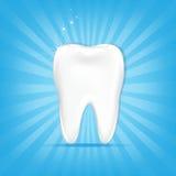 Dente com Sunburst Imagens de Stock