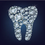 Dente de Diamon Foto de Stock Royalty Free
