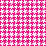 Dente di segugi rosa Immagini Stock