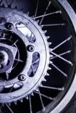 Dente per catena del motociclo Fotografia Stock Libera da Diritti