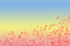 Dentelez les fleurs illustration libre de droits