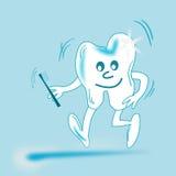 Dentes Animated ilustração royalty free