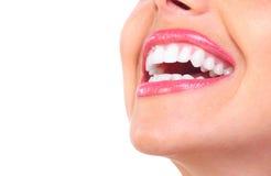 Dentes da mulher Fotografia de Stock Royalty Free