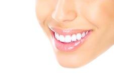 Dentes da mulher Fotografia de Stock