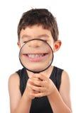 Dentes do branco das crianças fotos de stock royalty free
