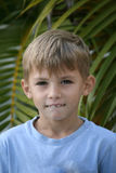 Dentes do menino Fotos de Stock