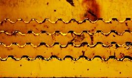 Dentes do metal Imagem de Stock