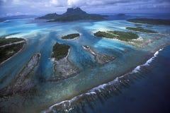 Dentes do recife da lagoa Imagem de Stock Royalty Free