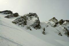 Dentes rochosos da montanha Fotos de Stock