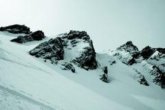 Dentes rochosos da montanha Fotografia de Stock Royalty Free