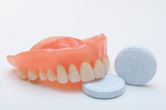 Dentição das dentaduras imagens de stock royalty free