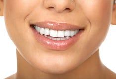 Denti della donna Immagini Stock Libere da Diritti