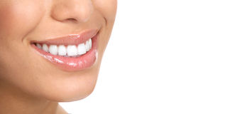 Denti della donna Immagini Stock
