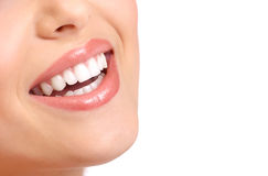 Denti della donna Fotografia Stock