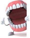 Denti di divertimento Immagini Stock
