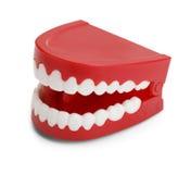 Denti di schiamazzo Fotografia Stock Libera da Diritti