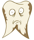 Denti difettosi illustrazione di stock