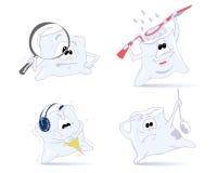 Denti divertenti Immagini Stock Libere da Diritti