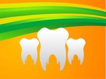 Denti ed onde Immagini Stock