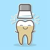 Denti meccanici che imbiancano concetto Fotografie Stock Libere da Diritti