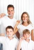 Denti sani fotografie stock